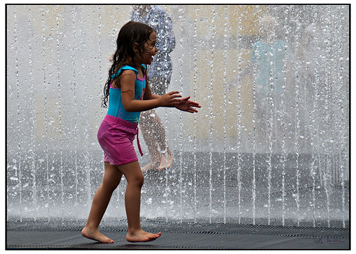 Children and Water Fountains