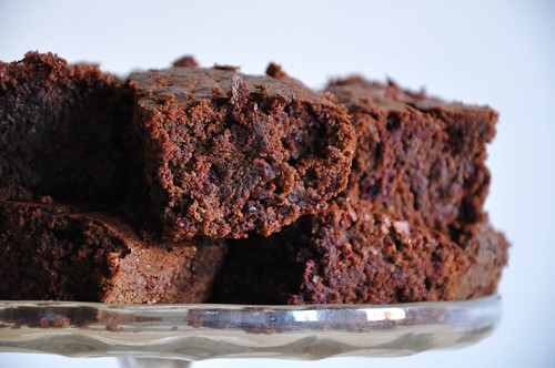Beetroot Brownie sideview