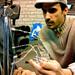 MFSP Percusion instrument for Alvin Lucier. © photo wellmer