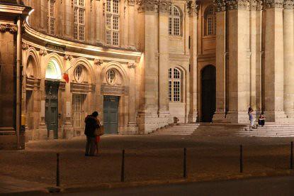 10g13 Noche 13 julio Seine y varios049 Pareja 13 julio