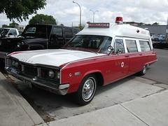 1968 Dodge Polara 500 Ambulance