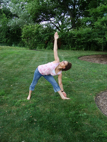 Triangle Pose: Trikonasana