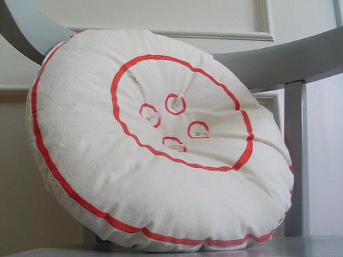 Ginormous Button Pillow