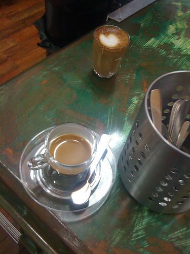 sample coffees