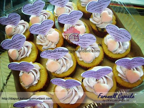 farewell cupcake, cupcake jakarta, dupcake depok, pesan cupcake jakarta, pesan cupcake depok, DKM Cakes, pesan kue online, toko kue online