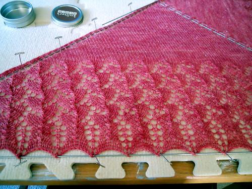 Sparkly pink Ishbel