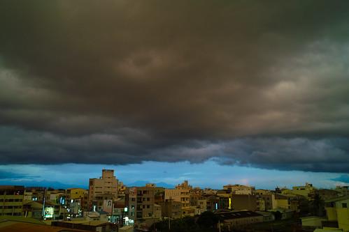 20100825 詭異的烏雲
