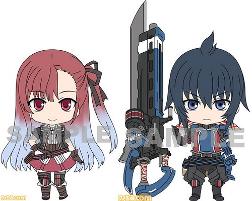 Design of Nendoroid Riela Marcellis and Imca