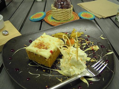 carrot cake a la toinen keksi