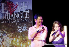 Love Triangle at the Gardens