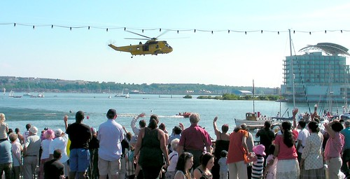 Cardiff Armed Forces Day-Helicopter display