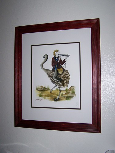 """""""Darwin's rhea"""" by Diana Sudyka"""