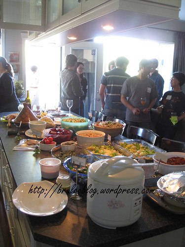 OMG so much food!