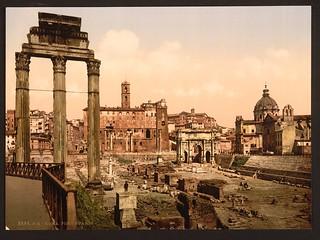 [Forum Boario, Rome, Italy] (LOC)