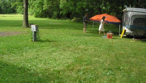 Camping 2 June 2010