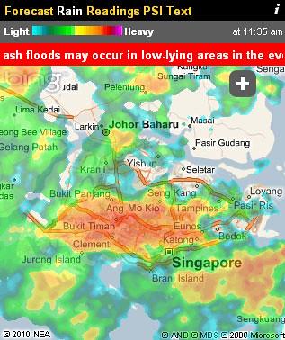 Rain/Flood Forecasting Tool