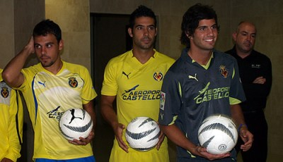 Villarreal Puma 2010/11 Home, Away and Training Jerseys
