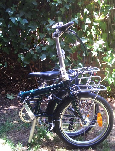 Dahon Speed TR medio plegada