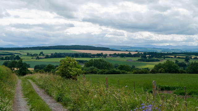 View towards the Lake District