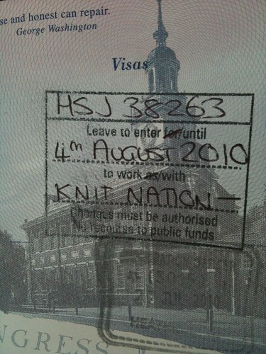 Knit Nation visa!