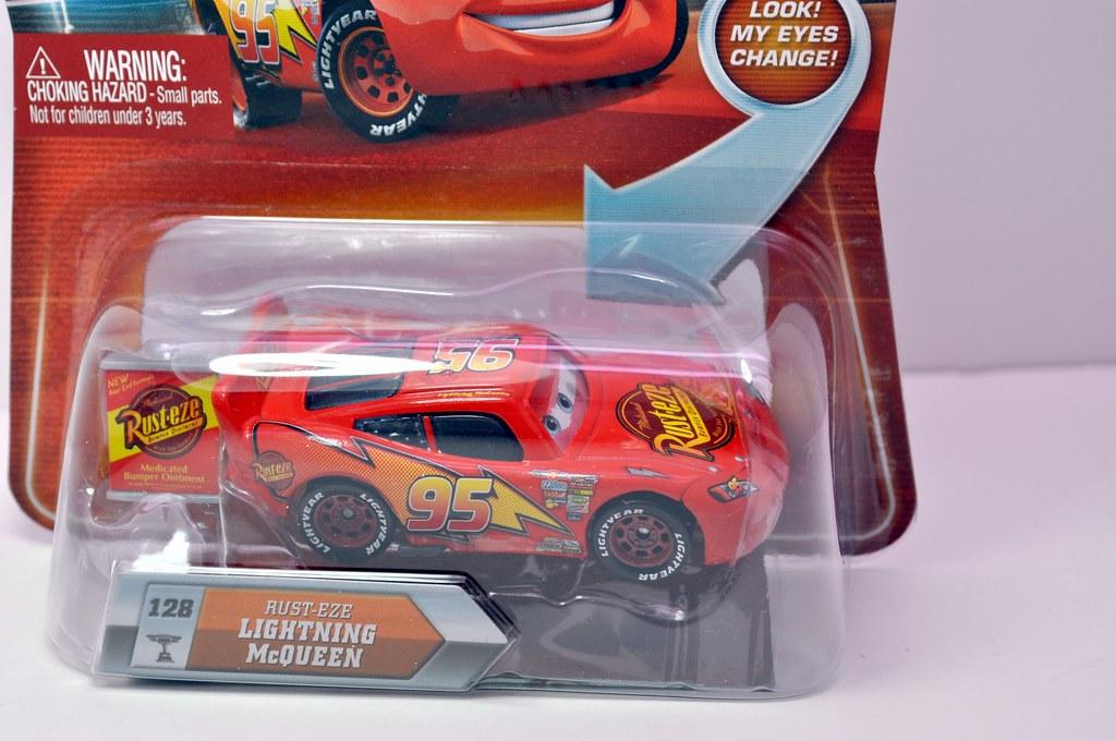 disney CARS Chase Rusteze Lightning Cqueen (3)