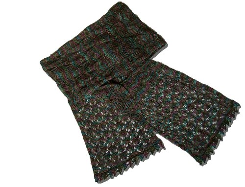Odonata Scarf, full view