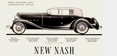 1932 Nash Advanced Eight Convertible Sedan