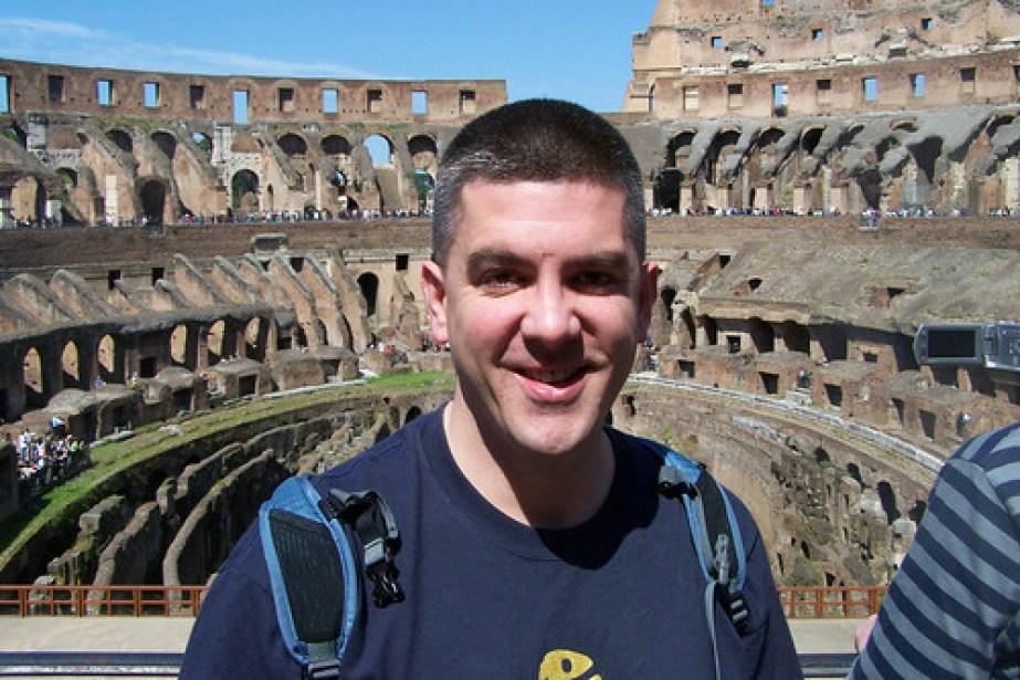 Touristy Rome Pic