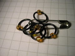 Stitchmarkers yellow