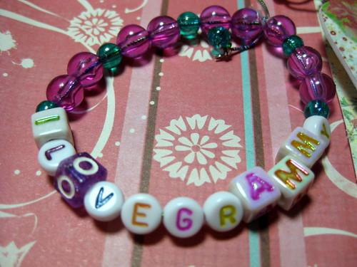 mom's bracelet from Charlotte