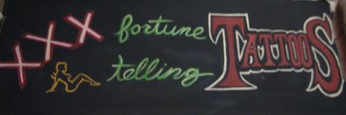 XXX Fortune Telling Tattoos