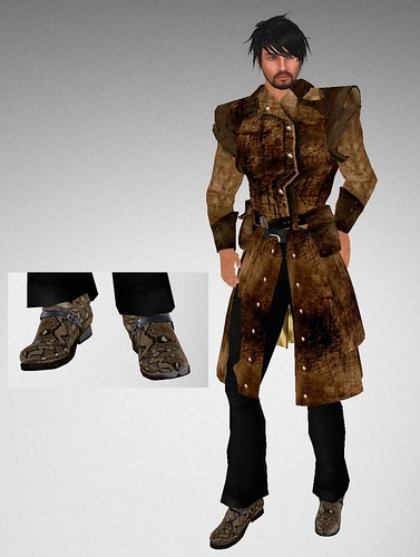 #18 Avatar Bizarre Make Him Over Gift Duster & Python Boots