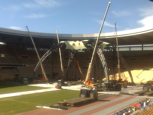 Sevilla - escenario U2 360 Tour