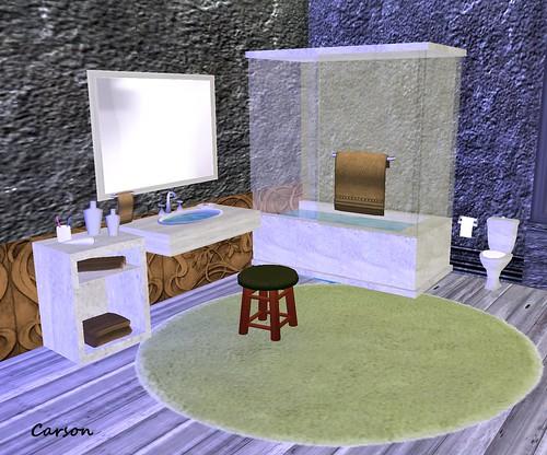 Arte's Bathroom Green  MM