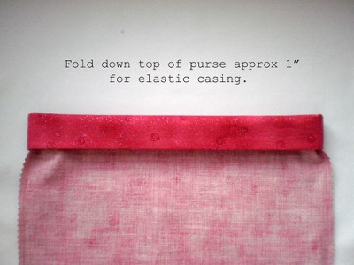 Fold down