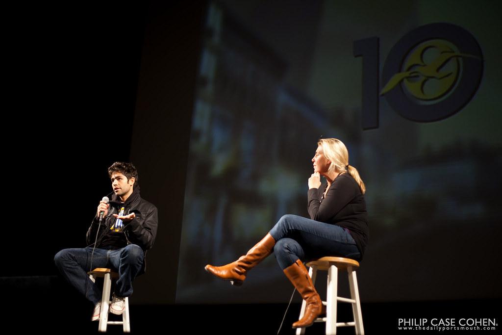 Adrian Grenier at 10th Annual New Hampshire Film Festival