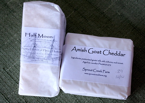 Sprout Creek Farm Cheeses