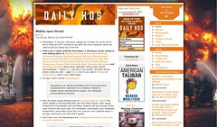 Daily Kos is on fire