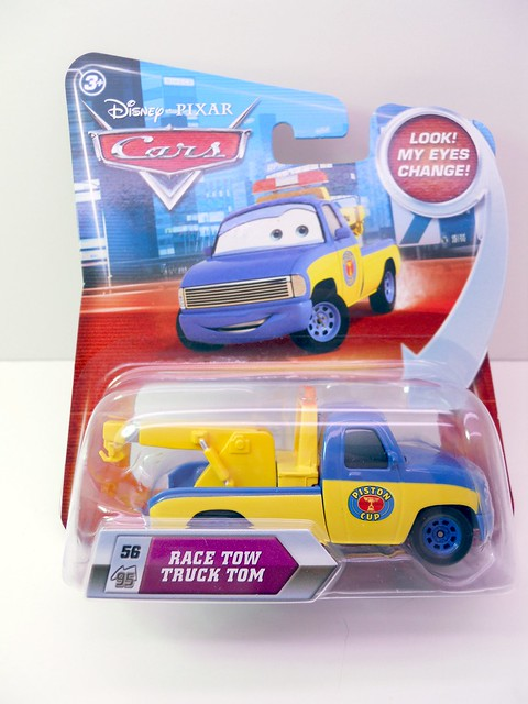 DISNEY CARS KMART COLLECTOR DAY 5  RACE TOW TRUCK TOM (1)