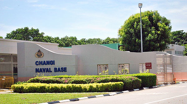 Changi Naval Base (picture via Streetdirectory.com)