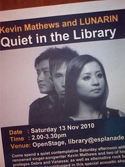"Kevin Mathews & LUNARIN: ""Quiet At The Library"""