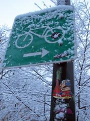 Captain Cranky Says No Cycling