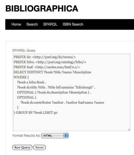 Bibliogrpahica endpoint with sample query - http://bibliographica.org/sparql