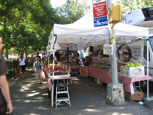 Tompkins Square Park Greenmarket