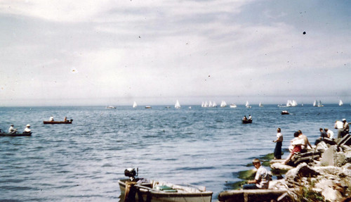 OOYC Snipe Race 1949