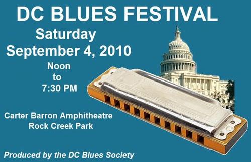 DC Blues Festival -- Saturday, September 4, 2010
