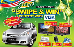 Giant Swipe & Win Contest