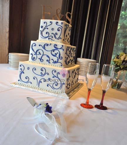 Wedding Cake at the Virginia Tech German Club