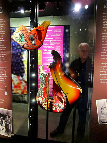 A Destroyed Hendrix Guitar