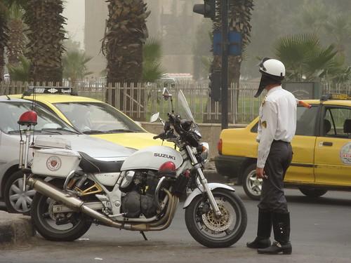 Traffic police, Syria - الصورة من حساب irishtravel على فليكر !